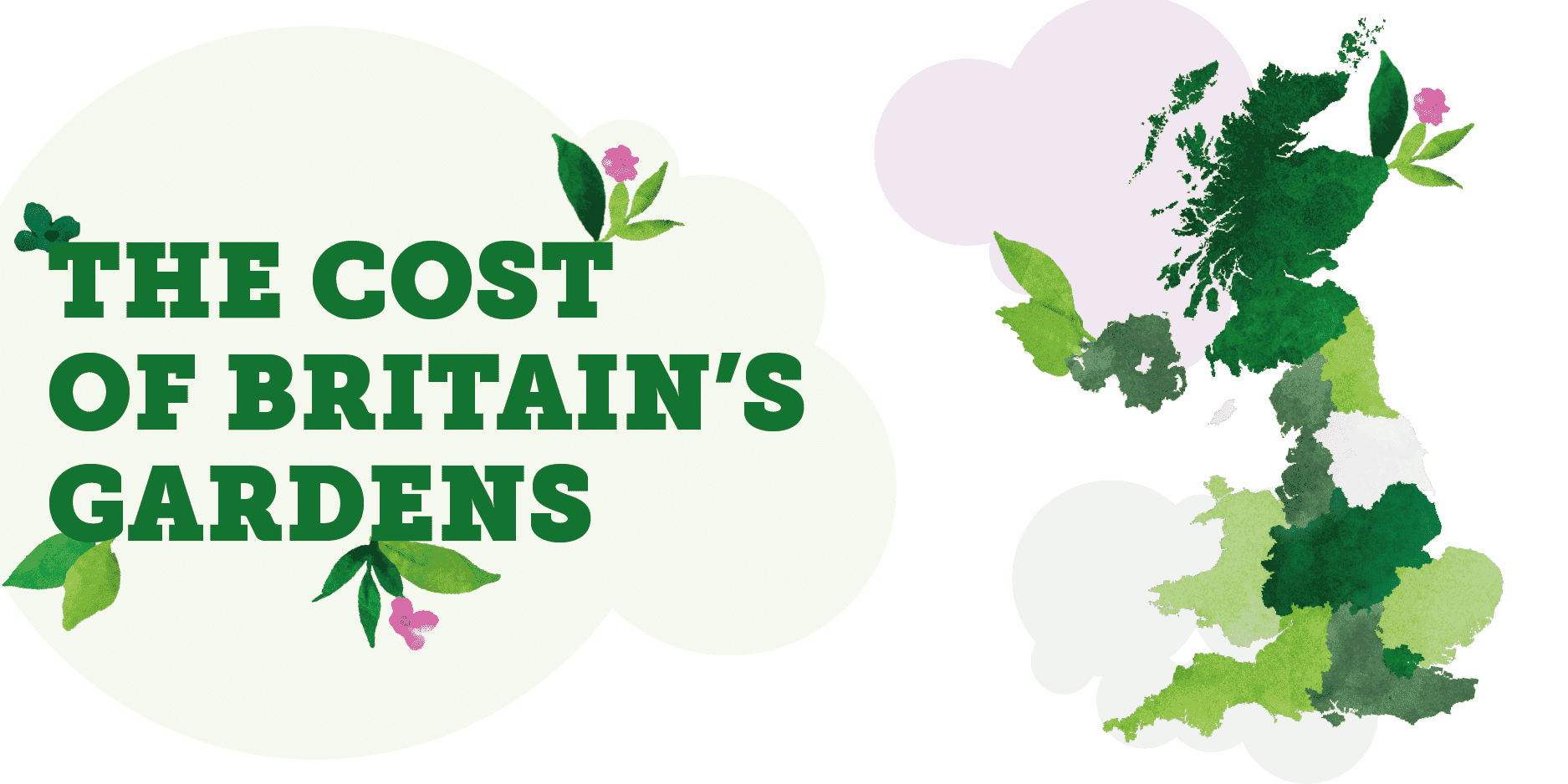 The Cost of Britain's Gardens